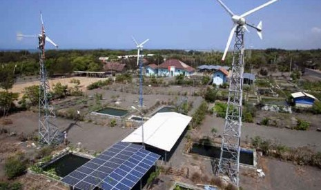 Kompleks Pembangkit Listrik Energi Hibrid SIDA di Bantul