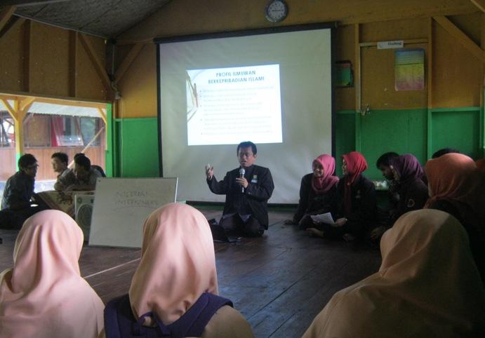Kuliah umum ; Profile Ilmuwan berkarakter Islami