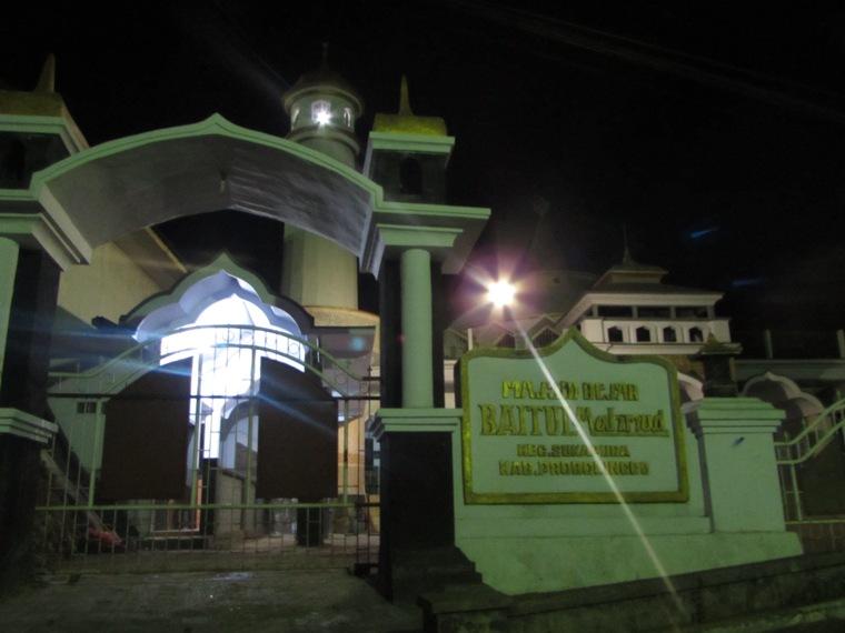 Masjid Besar Baitul Mahmud, Sukapura
