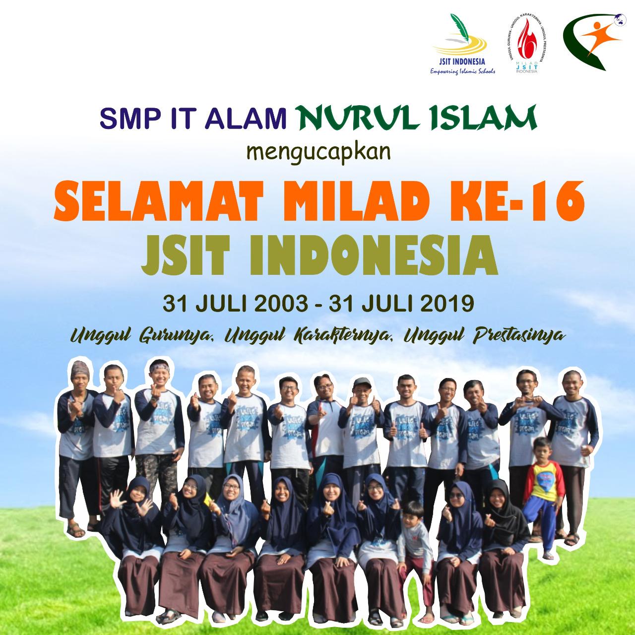 MILAD JSIT INDONESIA KE-16