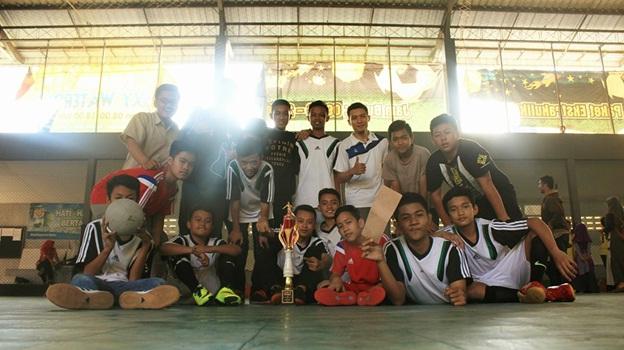SMPIT Alam Nurul Islam  Meraih Juara 3 Dalam Lomba Futsal di Acara MILAD JSIT ke-13