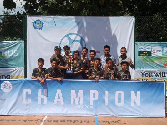 Tim Futsal SALYo Juara II Putih Biru Futsal 2019